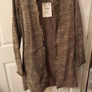 ZARA long cardigan/jacket